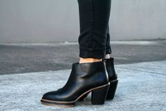 Rachel Comey 'Bout' two-tone leather ankle boots
