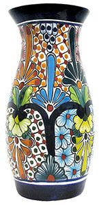 If you are in love with Southwestern decor or simply want to add some Southwestern/ South of the Border style to your home, our collection of Talavera jars and vases are sure to do the trick. Every jar and vase is handmade of clay in the classic Talavera style and then hand-painted by specialized artists outside of Dolores Hidalgo, Mexico.