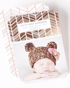 Find a birth announcement design that fits their personality. | Tiny Prints