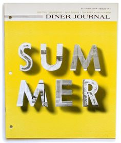 diner journal   s/2007 by derick holt