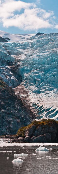 Holgate Glacier within Kenai Fjords National Park - Alaska