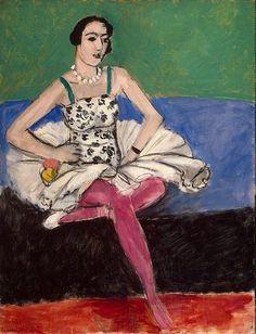 "Henri Matisse, ""Ballerina"", 1927"