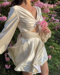 Pretty Outfits, Pretty Dresses, Beautiful Dresses, Cute Outfits, Aesthetic Fashion, Aesthetic Clothes, Best Designer Dresses, Hoco Dresses, Dream Dress