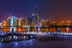 Shanghai 16th Pier at Night | Discovered from Dream Afar New Tab