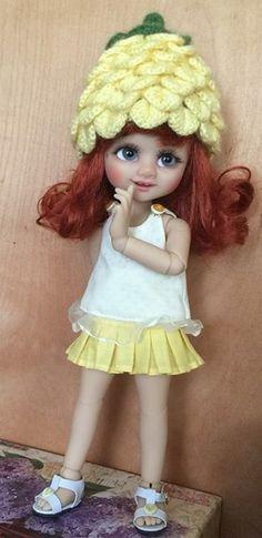 Outfite for a doll BJD Lati Yellow//Pukifee//IrrealDoll//Nikki Britt//Darack doll