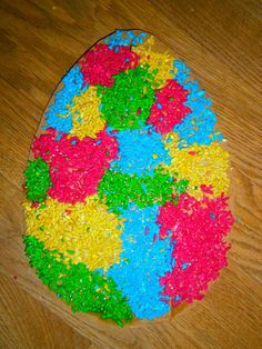 Unsre Kinder ....... unser Leben : REGENBOGEN REIS ....rainbow rice ganz einfach gefärbt... DIY and IDEAS Sensory Play
