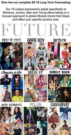 Trend Council: FUTURE - SS16 Long Term Forecasting