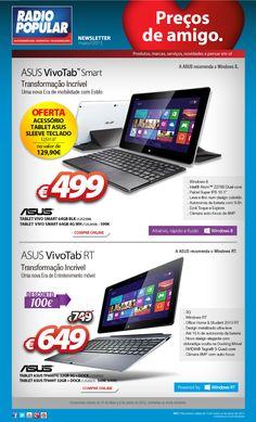 Descontos e ofertas incríveis com o Asus VivoTab!  http://www.radiopopular.pt/newsletter/2013/51/
