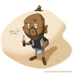 Guy illustration | by naoyuki.hayashi
