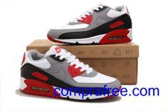 quality design 2a829 362e9 Comprar barato hombre Nike Air Max Zapatillas (color blanco,negro,rojo,gris)  en linea en Espana.