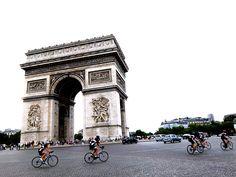TRAVEL . july 10, 2014 . Postcard from Paris, France . The Arc de Triomphe