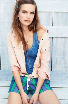 Madewell button down + tank