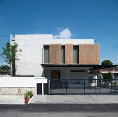 Concrete Residence in Malaysia by Seshan Design