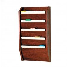 Desk Supplies>Desk Set / Conference Room Set>Holders> Files & Letter holders: 5 Pocket Legal Size File Holder