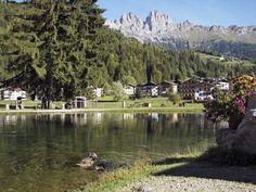 Lake Falcade Belluno Dolomiti Veneto Italia