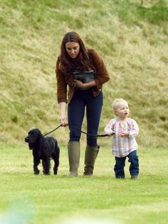 Kate, Savannah (Peter and Autumn's child) and Lupo.