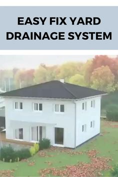 Gutter Drainage, Backyard Drainage, Drainage Solutions, Garden Solutions, Landscaping Retaining Walls, Yard Landscaping, House Drainage System, Porch With Pergola, French Drain Installation