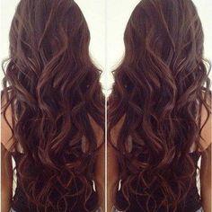 Hair #Longhair #curls #waves #hairstyle - bellashoot.com  @ http://seduhairstylestips.com