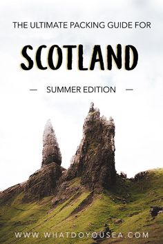to Scotland in summer is absolutely one of the best times to visit but it can be a little bit interesting packing for unexpected weather changes spontaneous downpours hik. Europe Destinations, Europe Travel Tips, European Travel, Travel Guides, Travel Packing, Packing Lists, Golf Travel, Airline Travel, Travel Uk