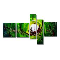 Green Envy Canvas Wall Art Oil Painting