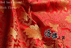 Chinese Ancient damask Costume hanfu baby clothes kimono cos clothes brocade fabric rich flowers series 90 wide-inFabric from Home & Garden on Aliexpress.com | Alibaba Group