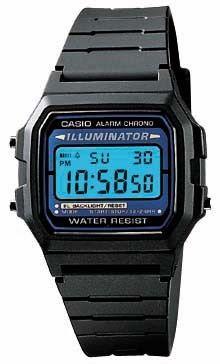 Casio Men's Basic Black Digital Watch