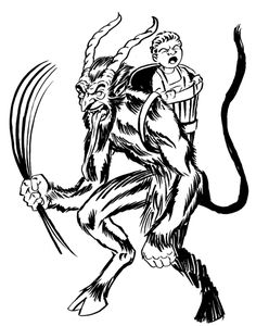 46 Best Krampus Images Xmas Devil Demons