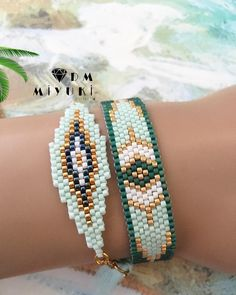 off loom beading techniques Bead Loom Patterns, Beaded Jewelry Patterns, Bracelet Patterns, Beading Patterns, Beading Ideas, Beading Supplies, Woven Bracelets, Seed Bead Bracelets, Bead Earrings