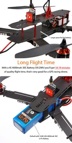 STORM Racing Drone GPS (RTF / SRD370 NAZA Lite) http://www.helipal.com/storm-racing-drone-gps-rtf-srd370-naza-lite.html