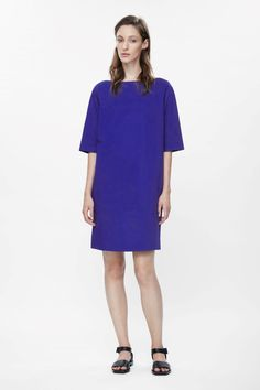 COS | Wide-neck cotton dress