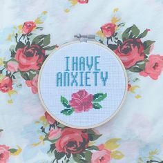 This little guy has quickly turned into a bestselling pattern on the shop! I love it so much and I'm so happy to bring my #mentalhealth awareness efforts to stitching #anxiety #ihaveanxiety #mentalhealthawareness