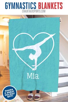 Whether you are a gymnast, parent or fan you are sure to love this supersoft plush premium blanket, which makes for a great gift for any occasion. Gymnastics Coaching, Gymnastics Gifts, Holiday Gifts, Christmas Gifts, Winter Night, Paper Shopping Bag, Blankets, Great Gifts, Plush