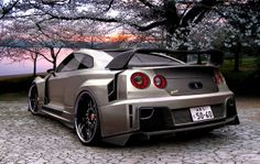 Nissan Gilden GTR R35 Modified wallpaper