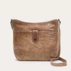 9309d58a107 Melissa Button Crossbody Bag | FRYE Since 1863 Crossbody Shoulder Bag, Leather  Crossbody, Leather
