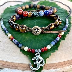 Check out Soul Sisters Designs Chakra Collection handcrafted from healing crystal beads and Pewter buttons.  Visit https://www.soulsistersdesigns.com/chakrajewelry