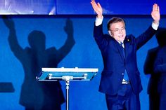 Please follow and like us: 0 South Korea's Shy New President Moon Jae-in Hits the Spotlight South Korean human rights lawyer Moon Jae-in never felt comfortable being at the Blue…