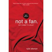 """""""Not a Fan: Teen Edition"""" by Kyle Idleman. How would you define your relationship with Jesus? Are you truly His follower or just a fan? Using humor, personal stories, and biblical truth, Idleman challenges young people to look at what it means to call themselves Christians and follow Jesus' radical call."""""""