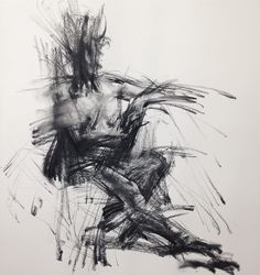 At an workshop. #Hybrid #crossover #expressive #charcoal #drawing #people in #motion. #art #fineart #인물화 #누드