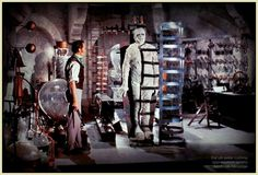 The Evil of Frankenstein (1964) Peter Cushing and Kiwi Kingston