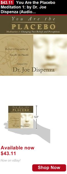 Audiobooks: You Are The Placebo Meditation 1: By Dr. Joe Dispenza (Audio Cd – Audiobook, Cd) BUY IT NOW ONLY: $43.11