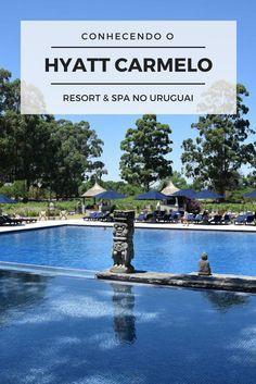 O Hyatt Carmelo Resort & Spa no Uruguai já foi escolhido um dos 100 melhores hotéis e resorts do mundo pela revista Travel + Leisure's. Conheça tudo sobre a nossa experiência nesse lugar incrível no post: http://www.viagememdetalhes.com.br/ja-ouviu-falar-de-carmelo-regiao-vinicola-do-uruguai/