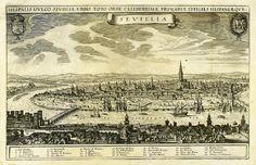 Asómate al risco del Aljarafe y esto verás de Sevilla en el siglo XVI. El portus hispalensis. #SevillAyer