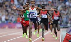 Mo Farah runs a perfect race to win the men's 5,000m Photograph: Tom Jenkins for the Observer