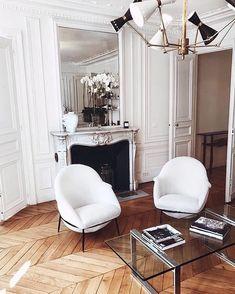 Parisian Room, Parisian Decor, Parisian Apartment, Parisian Style, Home Interior, Decor Interior Design, Luxury Interior, Modern Interior, My Living Room