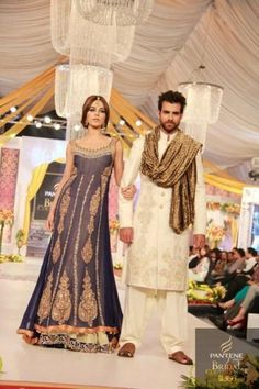 Asifa-Nabeel-Collection-At-Pantene-Bridal-Couture-Week- 9... NICE COLOR