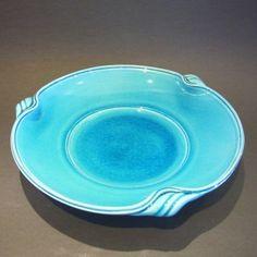 Merilyn Wiseman 'Copper Blue Bowl' Ceramic                                                                             I love the copper blue!