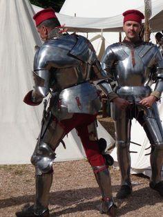 XV Century armours.