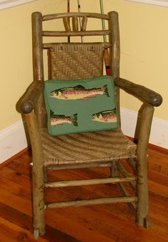New handmade needlepoint pillows in a variety of colors and styles ...