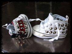 Nuovissimi modelli #AllStar #Converse #studded #forkids #customMade with #love by #muffin! Presto disponibili su www.muffinshop.it con il 20% di sconto! Scoprite come visitando il nostro sito! #sneakers #kidsStyle #fashion #style #shoes #handmade #madeinitaly #muffinonline #muffinshop #muffinShop_it