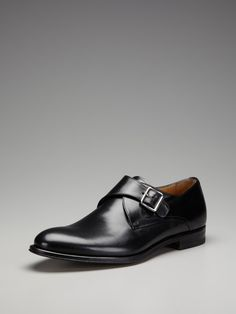 Antonio Maurizi  Leather Monkstrap Shoes